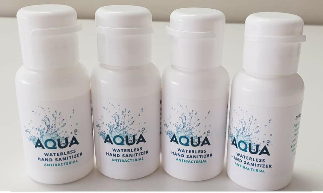 AQUA Waterless Hand Sanitizer Gel 200ml